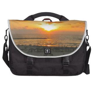 Tel Aviv Sunset Laptop Bag