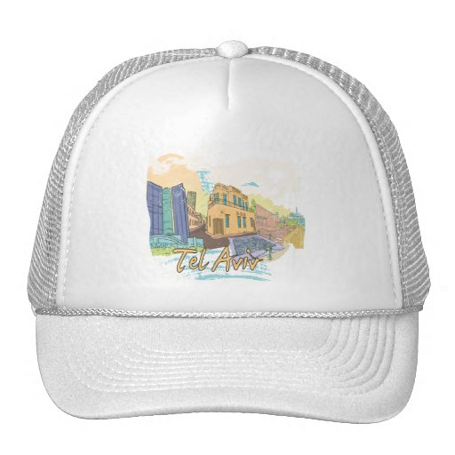 Tel Aviv Trucker Hats