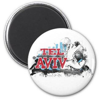 TEL AVIV - un estilo del grunge de la ciudad del # Iman