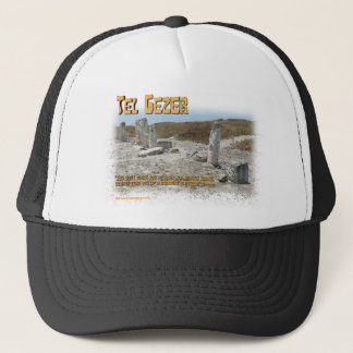 Tel Gezer Standing Stones Trucker Hat