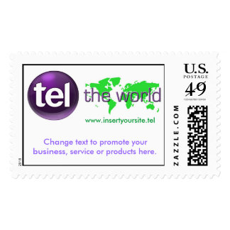 .tel the world stamp