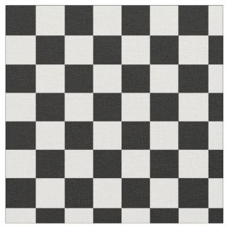 Tela a cuadros blanco y negro telas