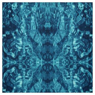 Tela abstracta azul de la foto del agua telas