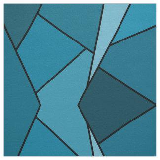 Tela abstracta geométrica de los polígonos del telas