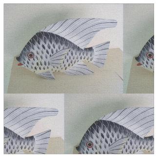 Tela adaptable del diseño de los pescados