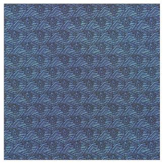 Tela Azul-Zazzle Estrella-Oscura esculpida Telas