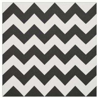 Tela blanco y negro horizontal del modelo de telas