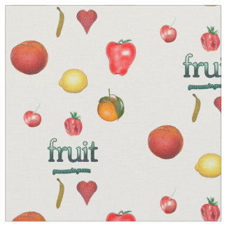 Tela colorida de la fruta telas