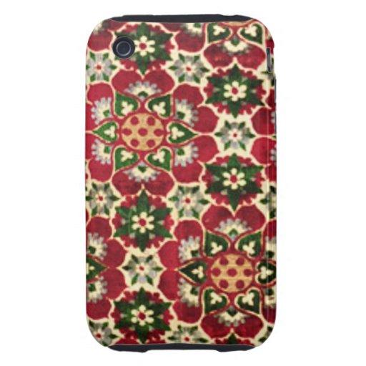 Tela colorida de Medici iPhone 3 Tough Cárcasa