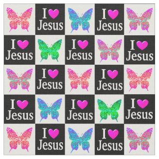 TELA COLORIDA INSPIRADORA DE JESÚS DEL AMOR DE LA TELAS