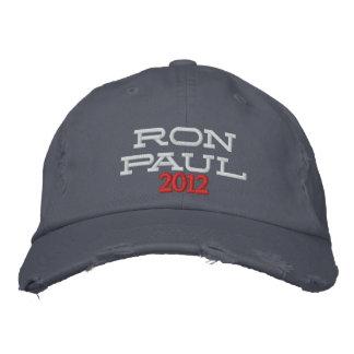 Tela cruzada apenada bordada del tipo de tela de gorras de béisbol bordadas
