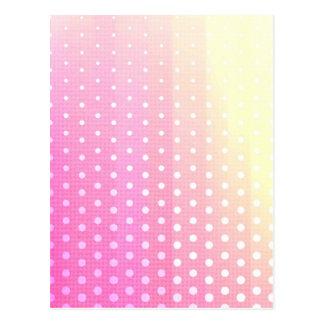Tela cruzada blanca amarilla rosada moderna femeni postales