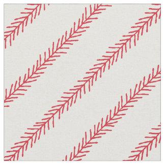 Tela de algodón de la puntada del béisbol telas