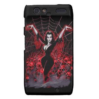 Tela de araña de Vampira gótica Motorola Droid RAZR Fundas