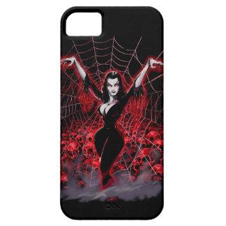 Tela de araña de Vampira gótica iPhone 5 Cárcasas