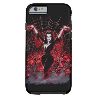 Tela de araña de Vampira gótica Funda Para iPhone 6 Tough