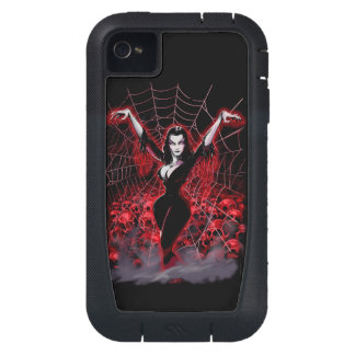 Tela de araña de Vampira gótica Funda Para iPhone 4
