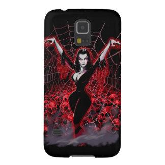 Tela de araña de Vampira gótica Funda De Galaxy S5