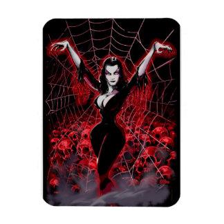 Tela de araña de Vampira gótica Iman De Vinilo