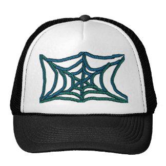 tela de araña gorros bordados