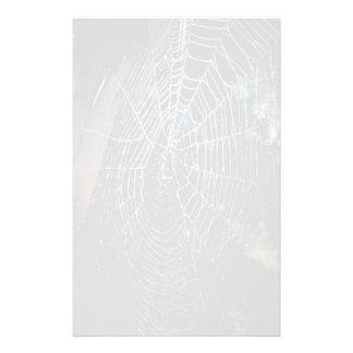 Tela de araña  papeleria de diseño