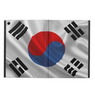 Tela de la bandera de la Corea del Sur