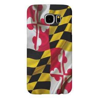 Tela de la bandera de Maryland Fundas Samsung Galaxy S6