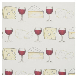 Tela de la comida de la degustación de vinos del telas