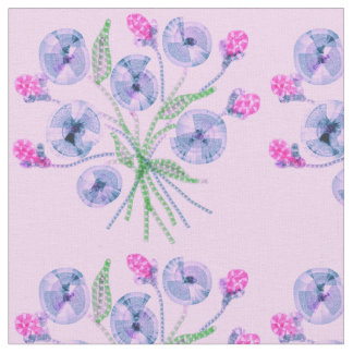 Tela de la flor de la primavera telas