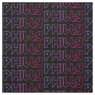 ¡Tela de la tela cruzada de algodón de Philly, Telas
