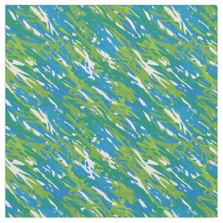 Tela del camuflaje de Eco del verde azul Telas