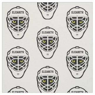 Tela del casco de los ojos de gato del hockey telas