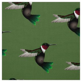 Tela del diseñador del colibrí telas