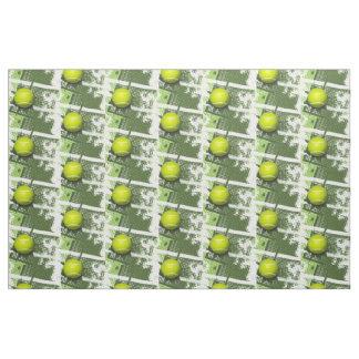 Tela del diseño del tenis telas
