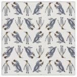 Tela del frenesí de rey pingüino (elija su color) telas