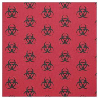 Tela del modelo del símbolo del Biohazard Telas