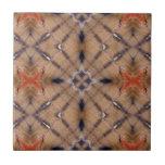 Tela del nativo americano tejas  cerámicas