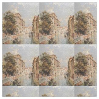 Tela del personalizado del arte de Venecia de Telas