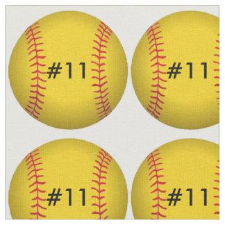 Tela del softball telas