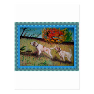 tela del su de la ensaladilla del curiosi del cani postal