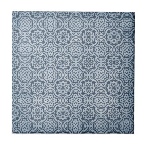 Tela del vintage azulejo cuadrado pequeño