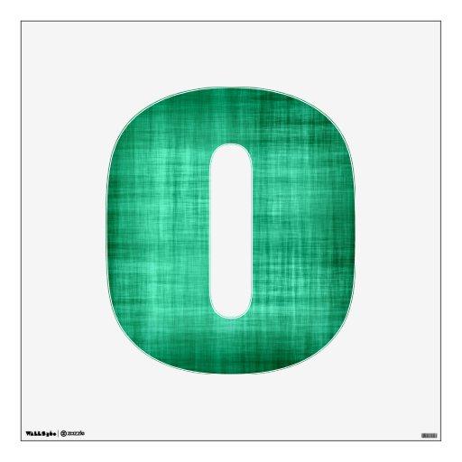Tela descolorada del verde azul vinilo adhesivo