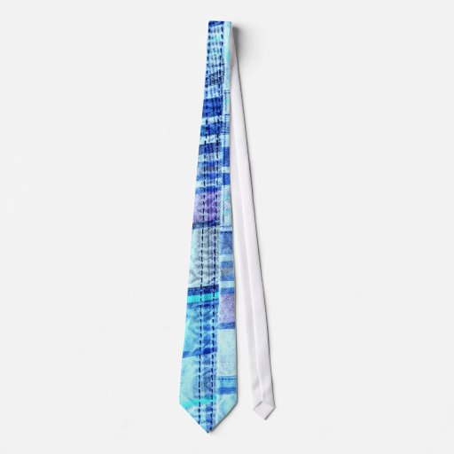 Tela escocesa 4 del remiendo corbata
