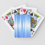 Tela escocesa azul clara baraja cartas de poker