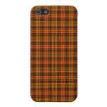 Tela escocesa brillante de la caída iPhone 5 cárcasas