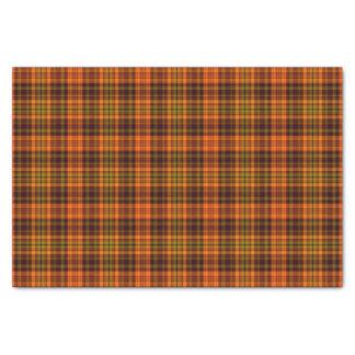 Tela escocesa brillante de la caída papel de seda pequeño