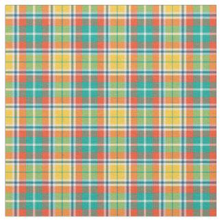 Tela escocesa brillante de la moda del amarillo y telas
