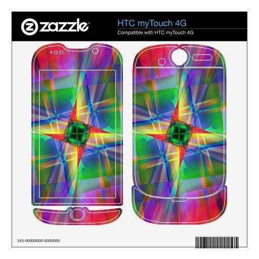 Tela escocesa calcomanía para HTC myTouch 4G