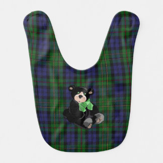 Tela escocesa clásica de MacEwen con el babero del