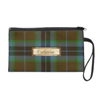 Tela escocesa de Brown, azul y verde de Thomson de